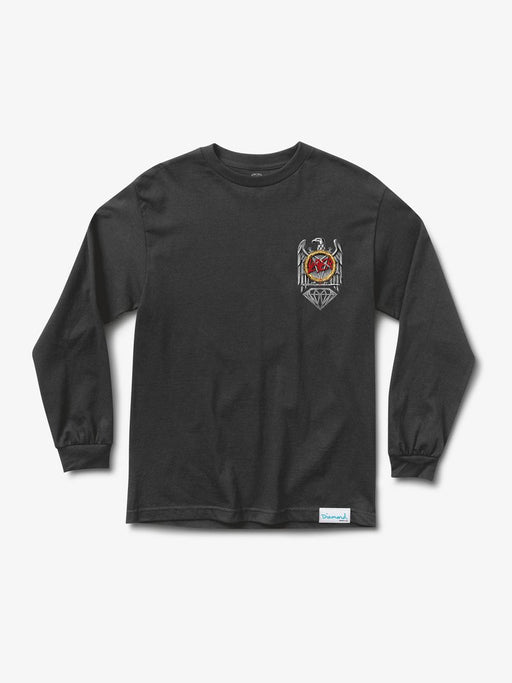 Diamond X Slayer Brilliant Abyss Long Sleeve Tee - Black