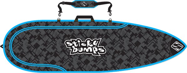 Sb Single Day Bag 5.0' Thruster Blk/Blu/Reflective