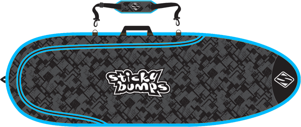 Sb Single Day Bag 7'6 Fish Blk/Blu/Reflective