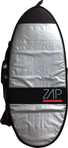 "Zap Standard Board Bag Xs 46"" Sil W/Red"