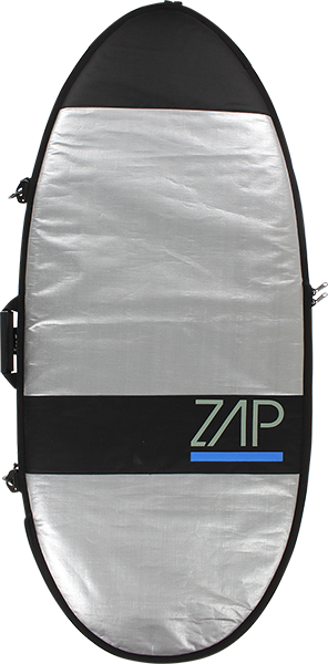 "Zap Standard Board Bag Md 57"" Sil W/Blue"