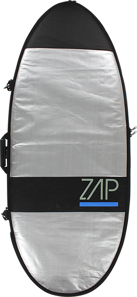 "Zap Standard Board Bag Lg 61"" Sil W/Blue"