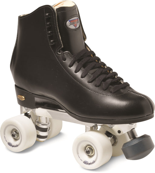 Sure Grip Chicago Rhythm Roller Skates - Black or White