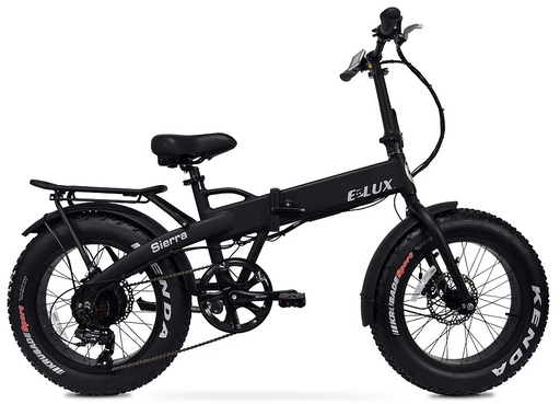 E-Lux Sierra Fat Tire Folding Electric Bike