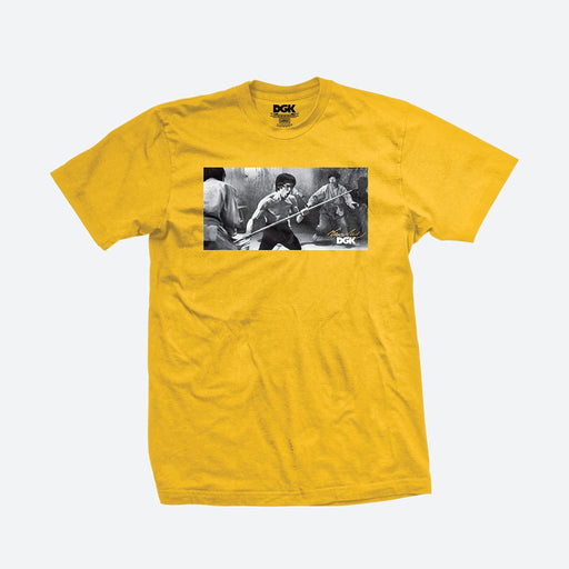 DGK Bruce Lee Power Tee - Gold