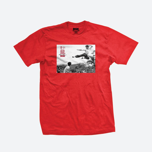 DGK Bruce Lee Paradise Tee - Red