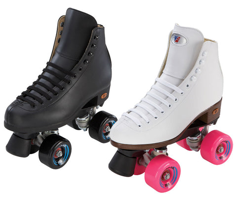 Riedell Citizen Jr Outdoor Kids Roller Skates - White or Black
