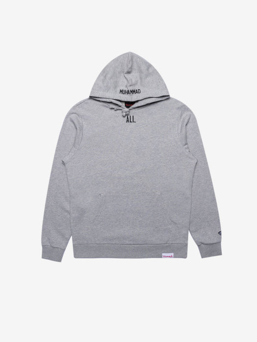 Diamond X Ali World's Greatest Hoodie - Grey