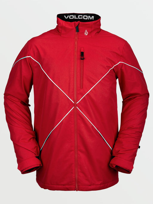 Volcom No Hood X Jacket - Red (2021)