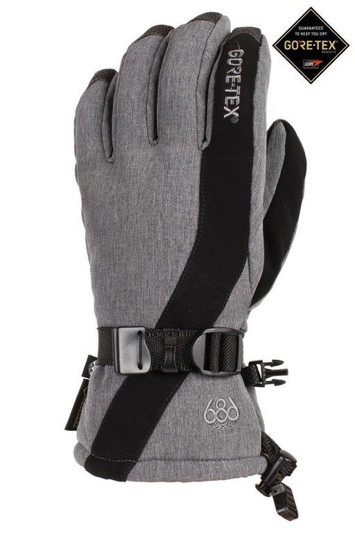 686 Women's Gore-Tex Linear Glove - Grey Melange (2020)