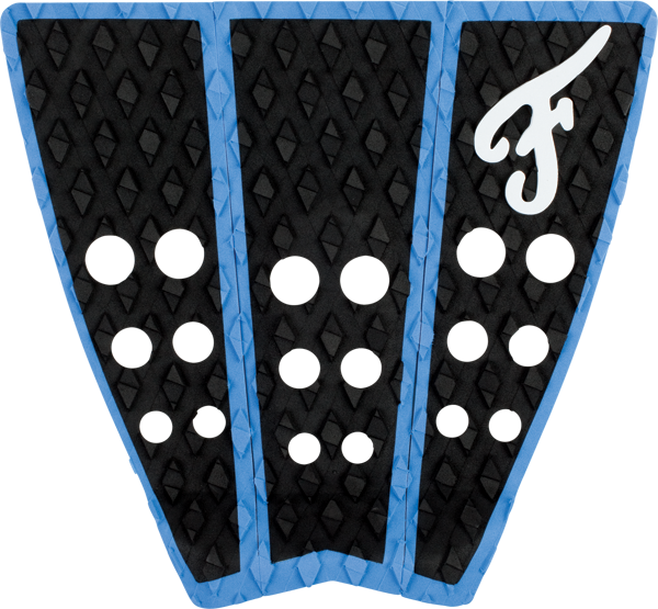 Famous Hatteras 3Pc Blk/Blu Traction