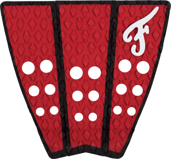 Famous Hatteras 3Pc Red/Blk Traction