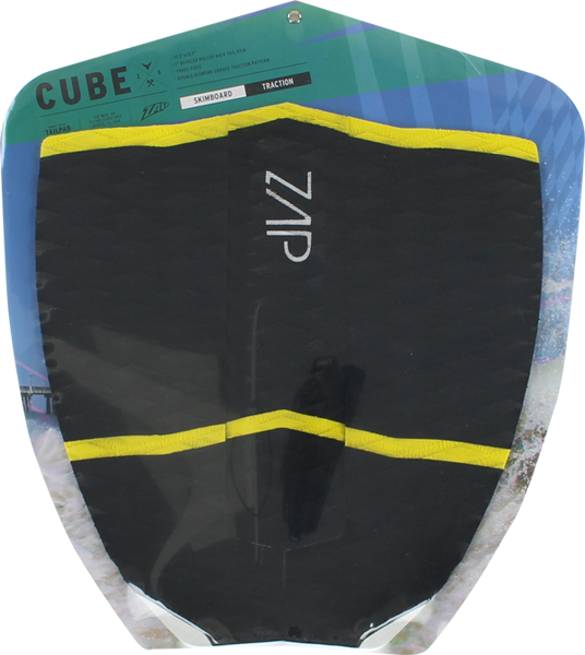 Zap Cube Tail Pad Blk/Yel