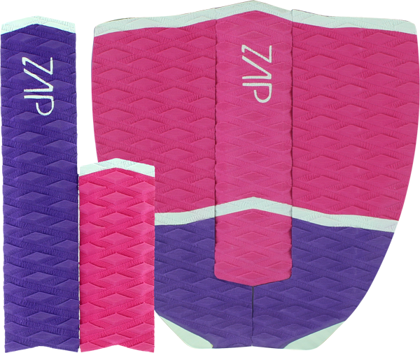 Zap Cube Tail Pad Pur/Pink/Wht