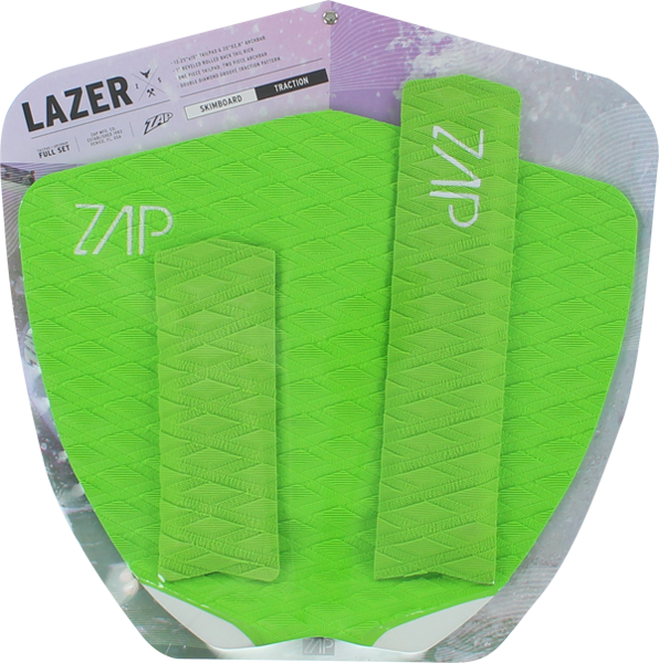 Zap Lazer Tail/Arch Bar Set Lime