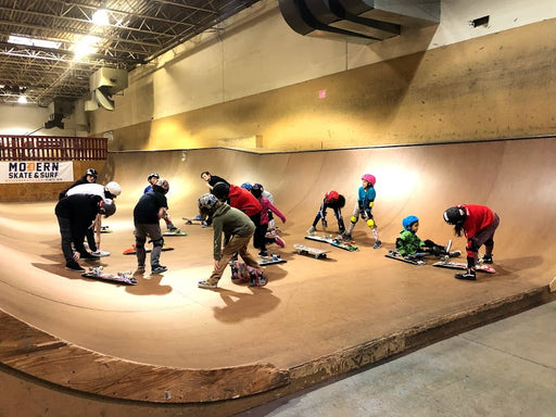 Summer Clinics at Modern Skate Park