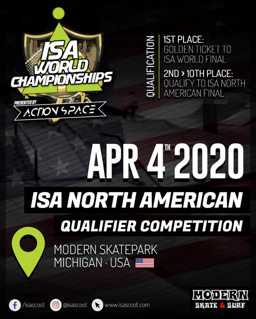 ISA North American Qualifier Contest - Amateur Qualifier Entry