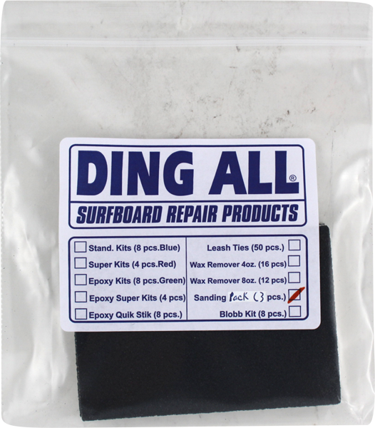 Ding All Sandpaper Assortment -3 Pack
