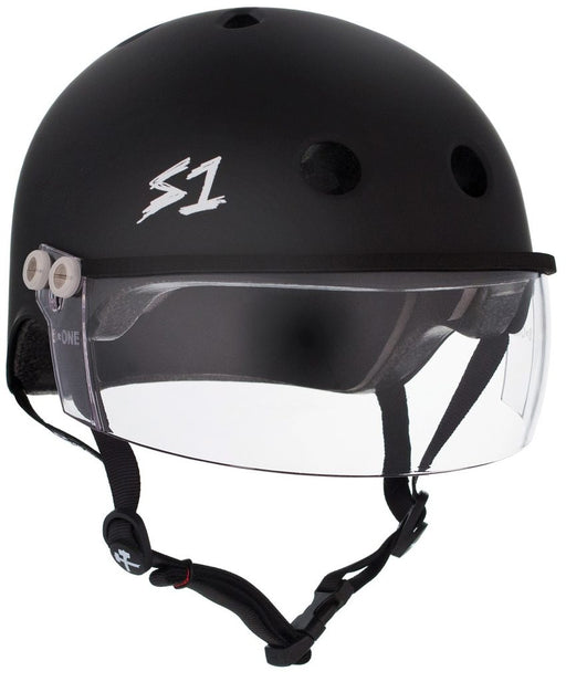 S1 Lifer Helmet with Visor - Matte Black