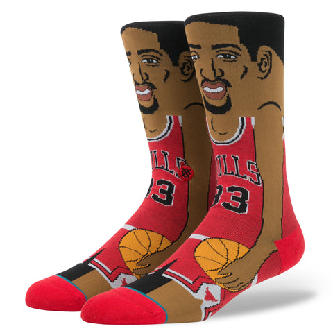 Stance Scottie Pippen Socks - Red