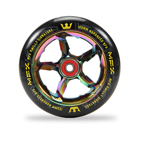 Madd Gear MFX R Willy Sig Scooter Wheels 120mm - Oil Slick