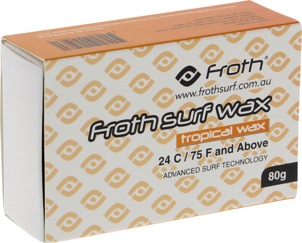 Froth Surf Wax Single Bar Tropical/Basecoat