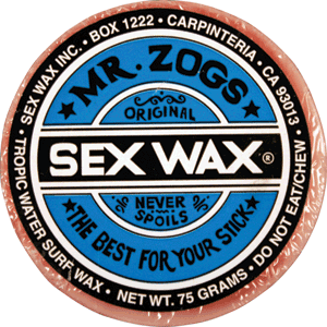 Sex Wax Og. Single Bar-Tropical Assorted