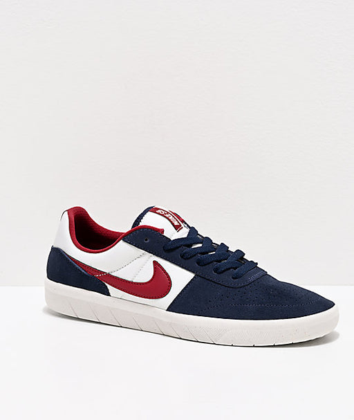 Nike SB Team Classic Blue/Red/White Shoe