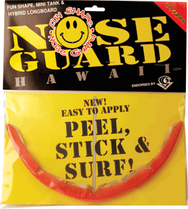 Surfco Funboard Nose Guard Kit -Red Tint