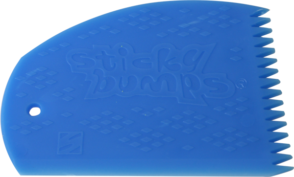 Sticky Bumps Wax Comb Blue