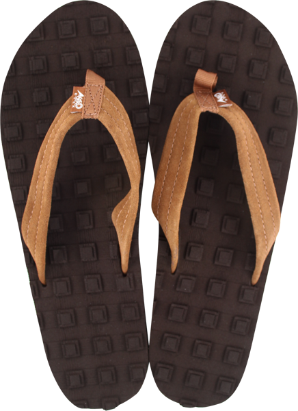 Astrodeck Womens Sandals Brn M/6.5-7.5 Eva/Leather
