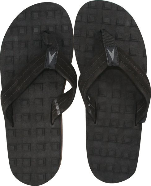 Astrodeck Sandals Black M/6.5-7.5 Eva/Leather