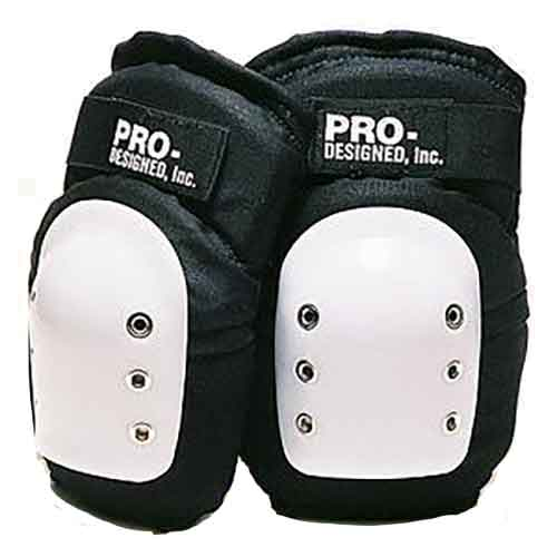 Pro-Designed Super Single Knee Pads - Black