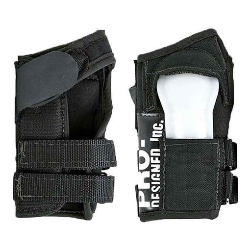 Pro-Designed Wrist Guards - Black