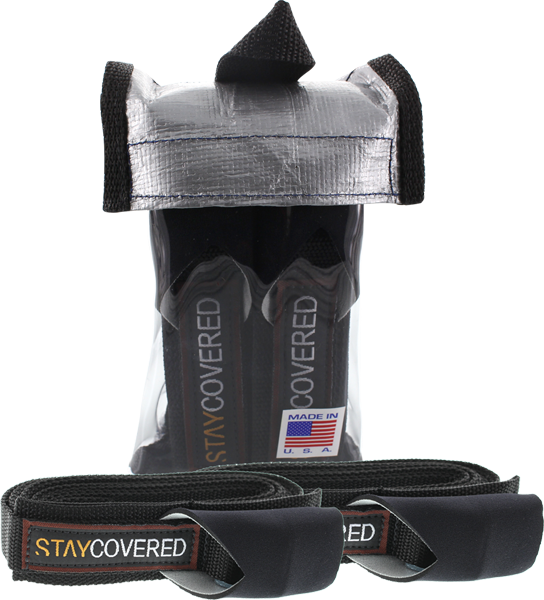 Stay Covered 12Ft Tie Down Straps