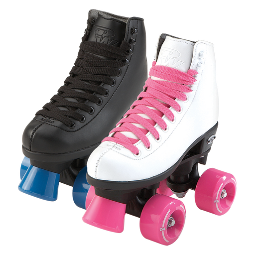 Riedell RW Wave Kids Roller Skates - Black or White