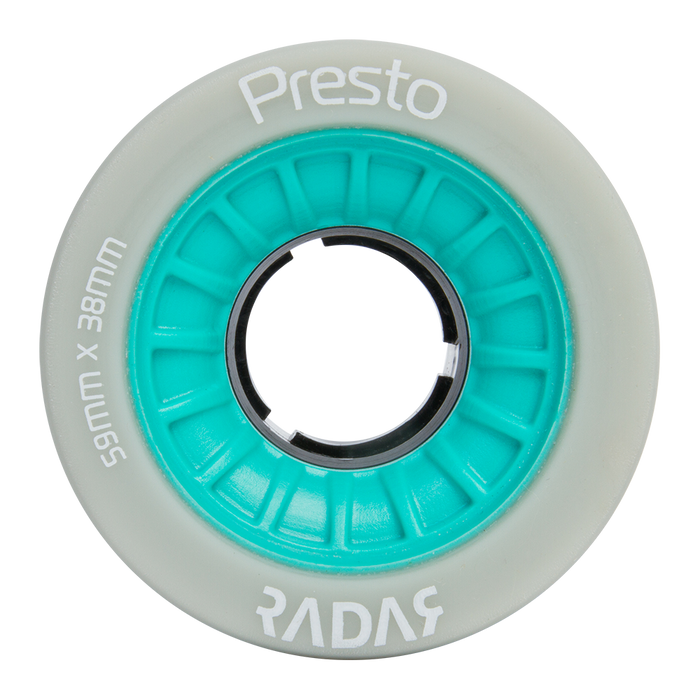 Radar Presto 59mm Roller Skate Wheels 4 Pack