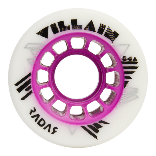 Radar Villain 59mm Roller Skate Wheels 4 Pack
