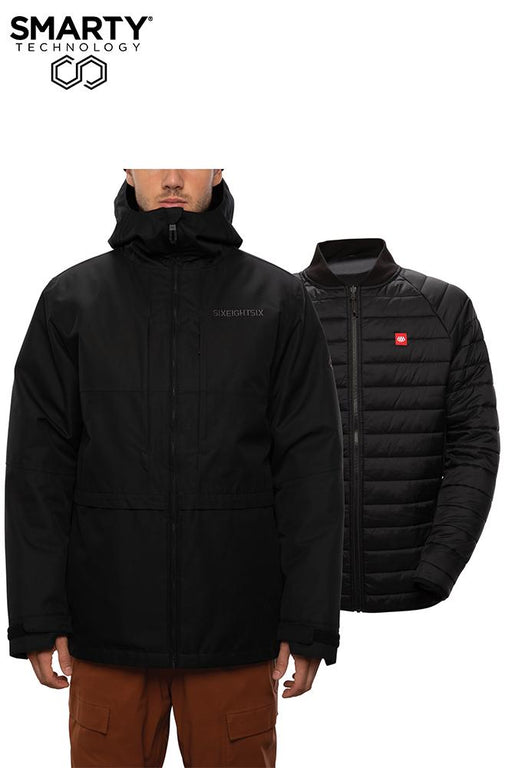 686 Smarty 3-in-1 Form Jacket - Black (2021)