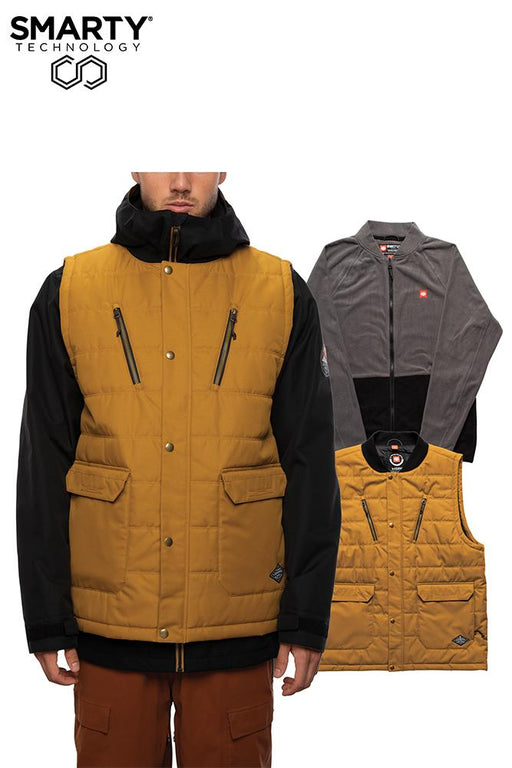 686 Smarty 5-in-1 Complete Jacket - Golden Brown (2021)