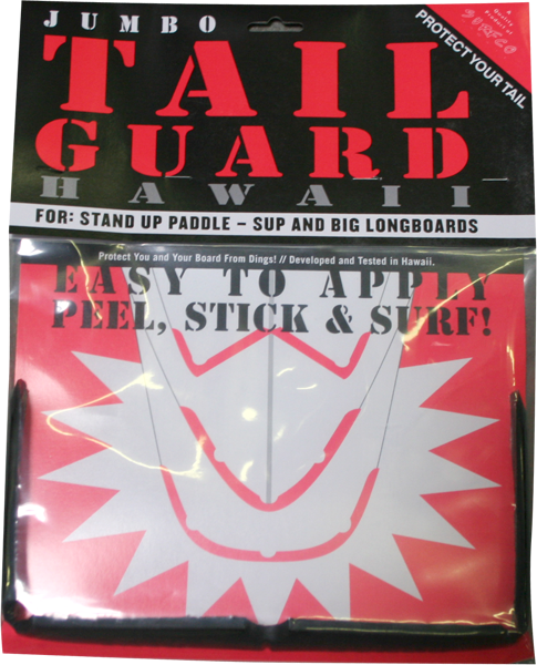 Surfco Sup Tail Guard Kit Black