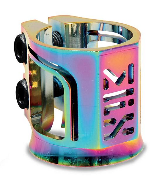 Madd Gear MFX X2 Cobra Clamp - Neo Chrome