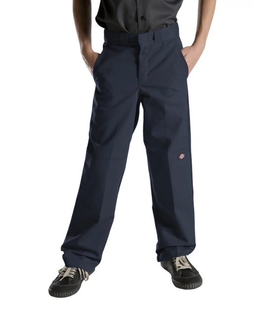 Dickies Boys Flexwaist Double Knee Pants - Dark Navy