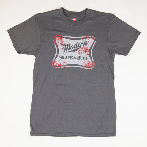Modern High Life Tee Shirt - Grey