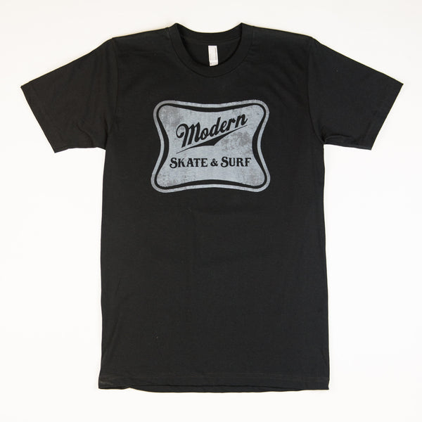 Modern High Life Tee Shirt - Black