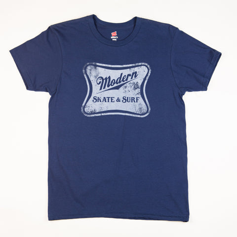 Modern High Life Tee Shirt - Navy