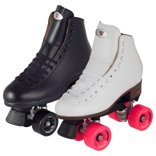 Riedell Citizen Outdoor Roller Skates - Black or White