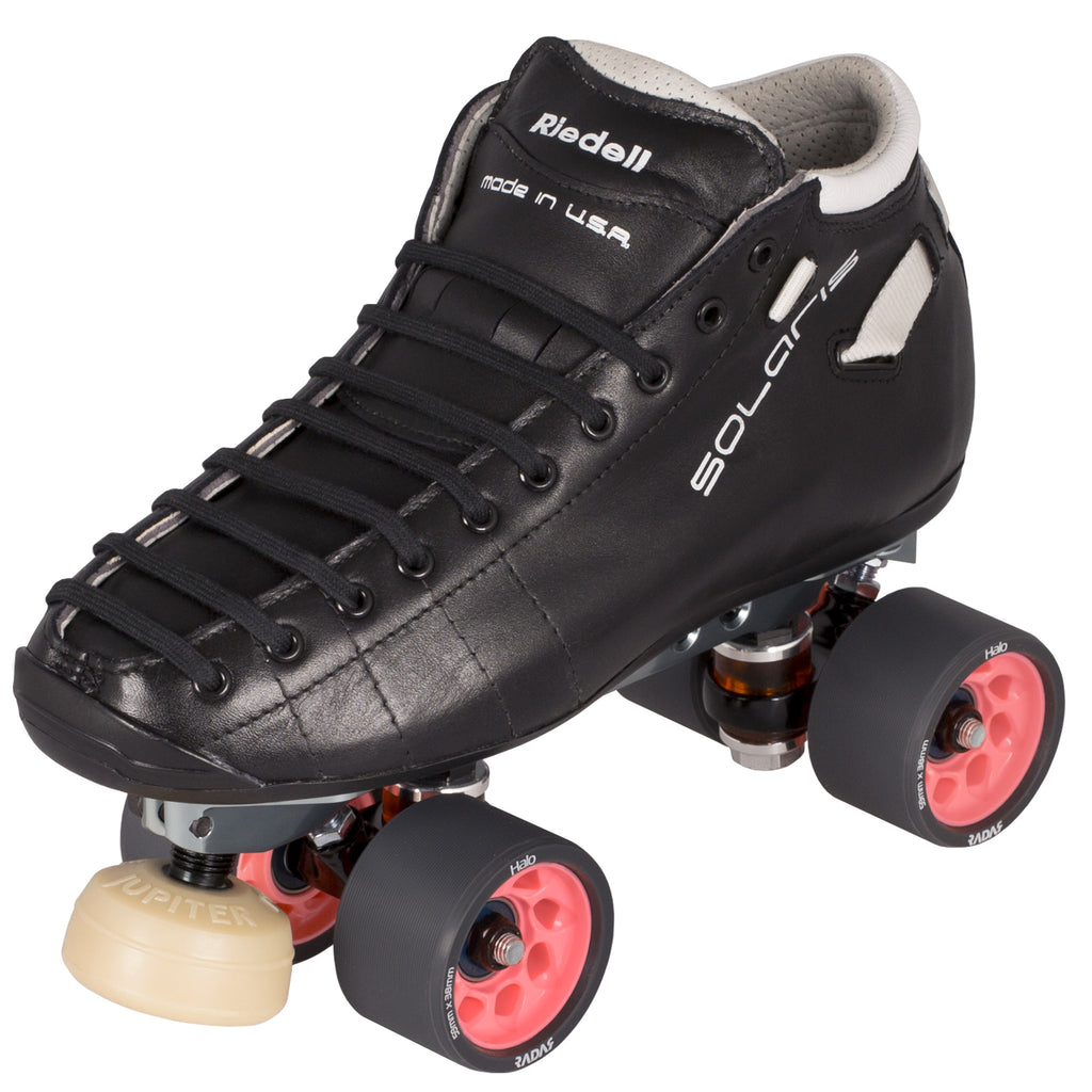 riedell solaris pro roller skates black modern skate. Black Bedroom Furniture Sets. Home Design Ideas