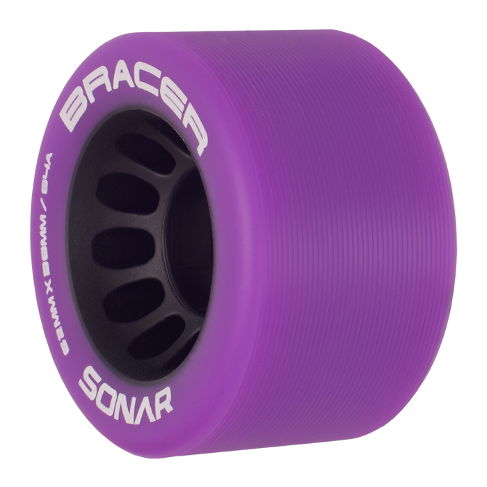 Sonar Bracer Roller Skate Wheels - 62mm 4 Pack