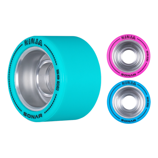 Sonar Ninja Agile 59mm Roller Skate Wheels 4 Pack